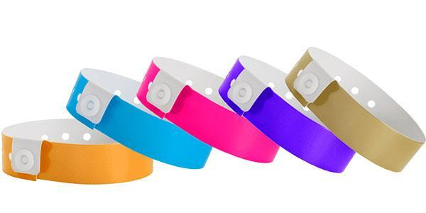 Vinyl Wristband Solid Colors grande